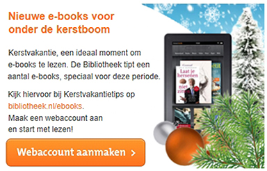 banner ebooks kerstboom